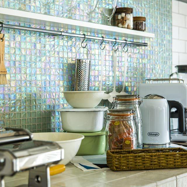 調理器具は引っ掛け収納がトレンド