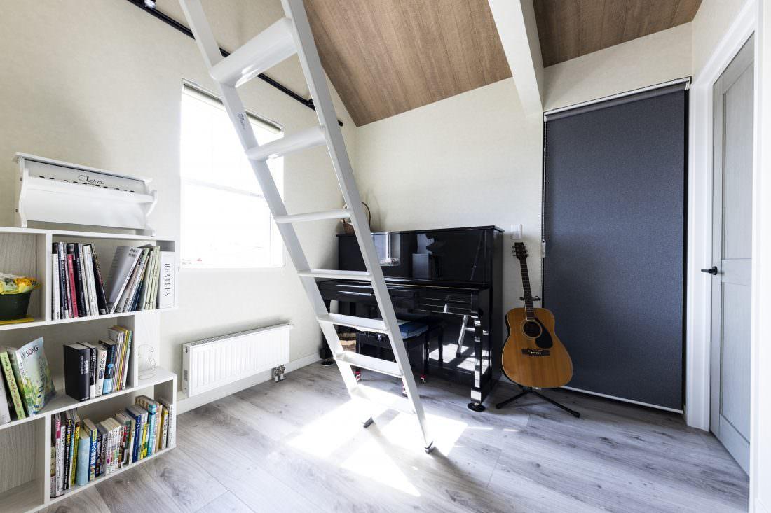 新築注文住宅インターデコハウスのフリースペース施工事例写真