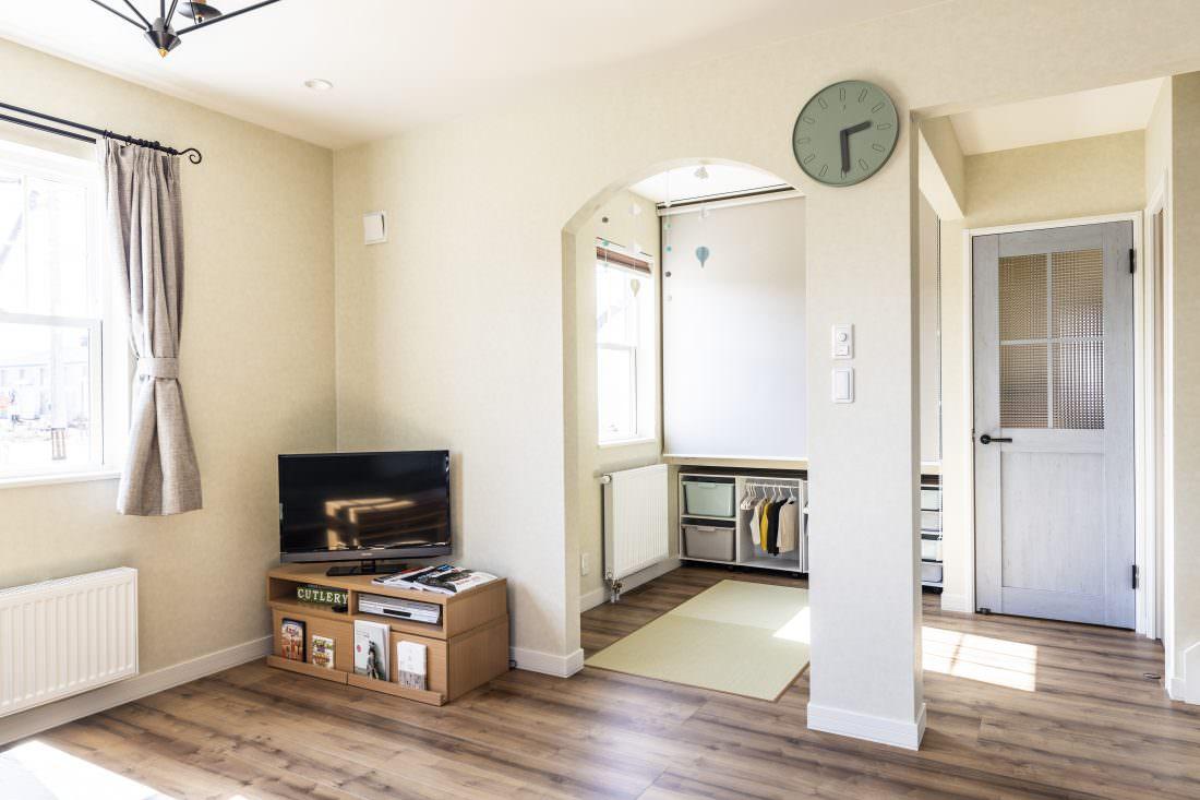 新築注文住宅インターデコハウスのキッズスペース施工事例写真