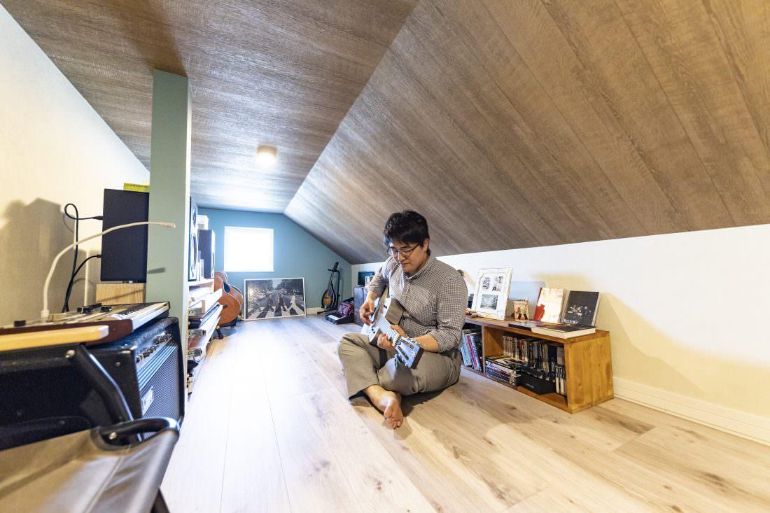 新築注文住宅インターデコハウスのロフト施工事例写真