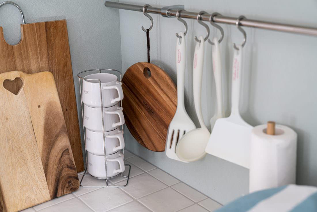 キッチン雑貨の上手な飾り方