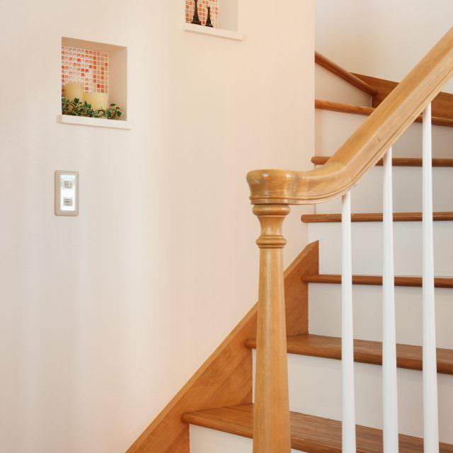 階段にあるニッチ