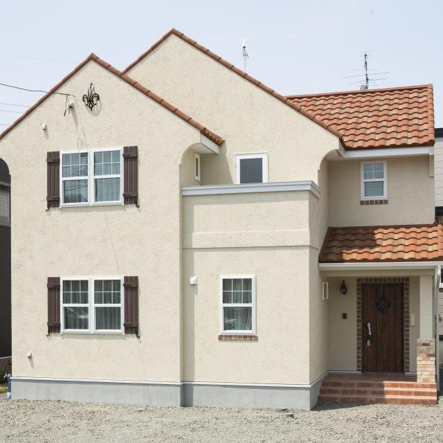 南欧デザインの輸入住宅
