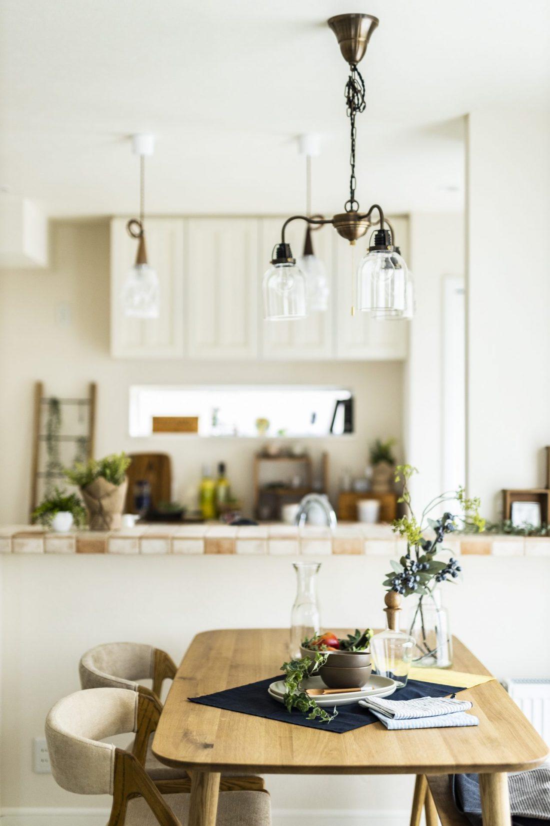 南欧プロヴァンスのタイルキッチン